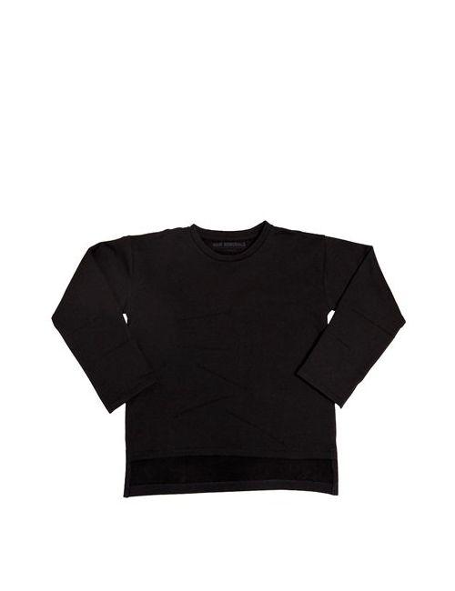 New Generals | Черный Asymmetric Organic Cotton Sweatshirt