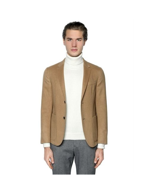 Z Zegna | Camel Wool Hair Cloth Blazer