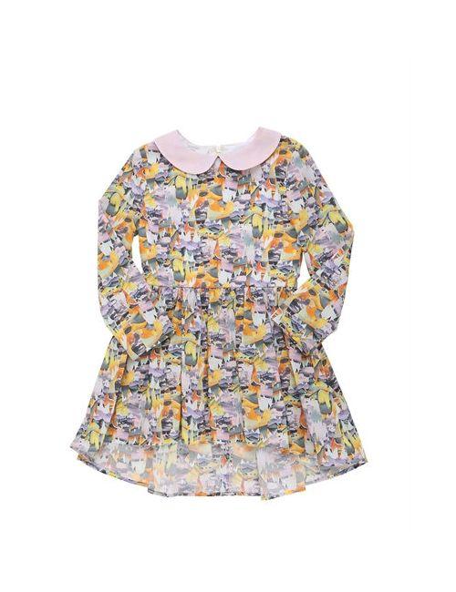 PAADE | Многоцветный Animal Printed Cotton Poplin Dress
