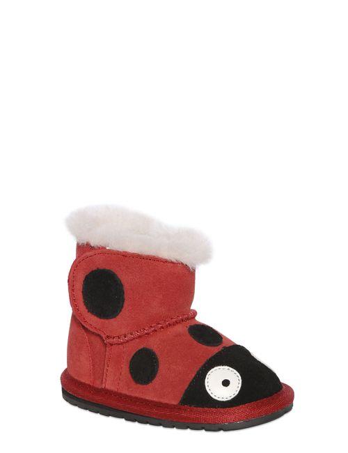 EMU Australia | Красный Ladybug Suede Wool Boots