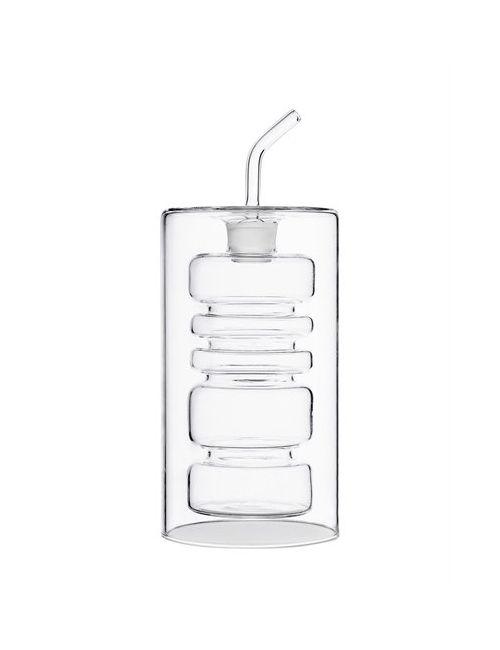 ICHENDORF | Прозрачный Rings Double Walled Oil Bottle