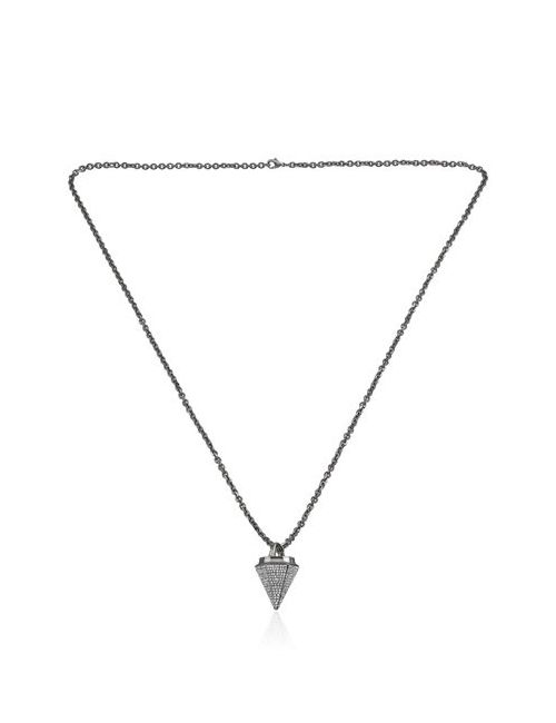 VITA FEDE | Чёрный Thea Full Pave Necklace