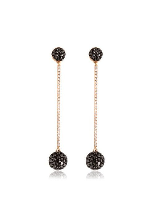 BEE GODDESS | Золотой The Dot Earrings