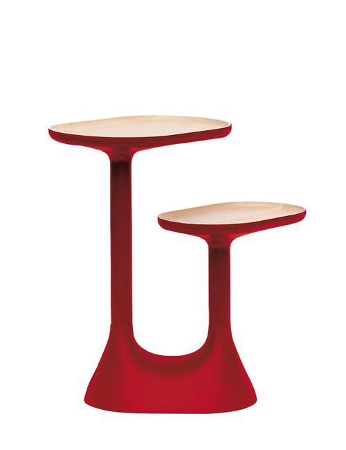 Mustache | Красный Baobab Coffee Table