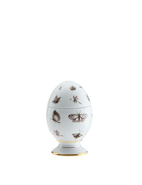 RICHARD GINORI 1735   Белый 13.5cm Hesperidae Porcelain Egg