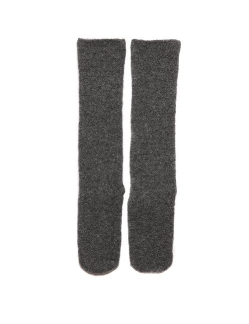 Isabel Benenato | Серый Wool Knit Socks