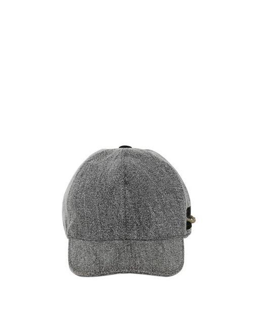 GI'N'GI | Серый Linen Baseball Hat