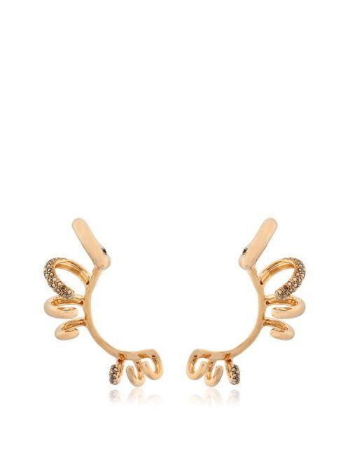 Schield   Золотой Bunga Bunga Ear Cuffs