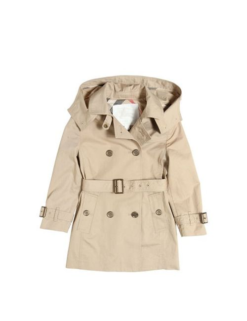 Burberry | Бежевый Cotton Gabardine Trench Coat