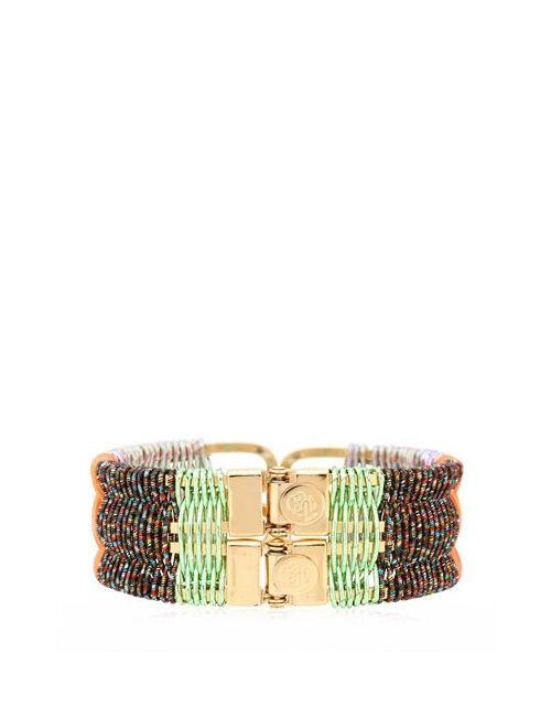 CLEMENTINE HENRION | Золотой Ein Stein On The Beach Bracelet