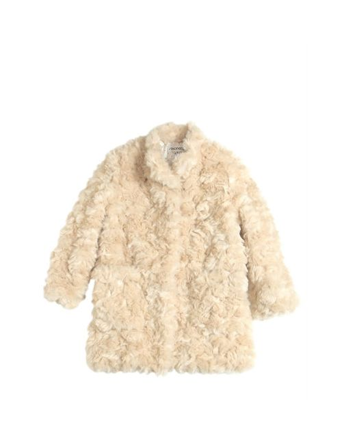 Simonetta | Бежевый Faux Fur Coat