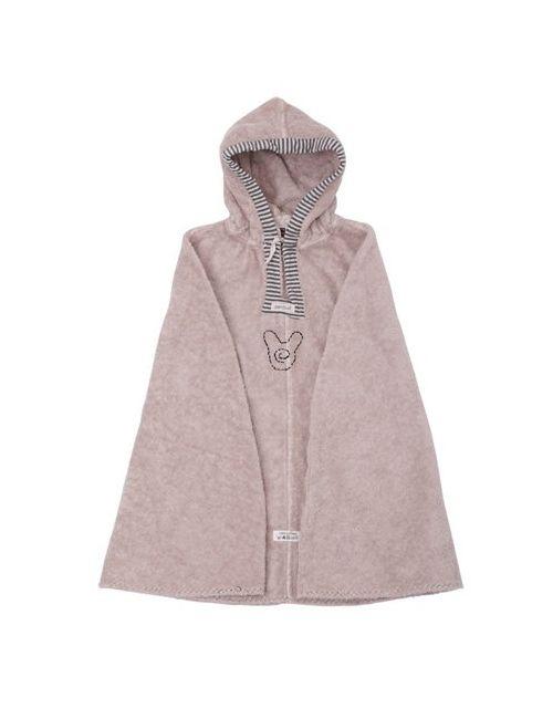 PANTUF | Розовый Cotton Terrycloth Poncho Bathrobe