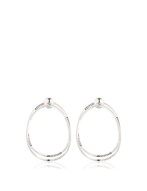 Delfina Delettrez | Золотой Ear-Clipse Earrings
