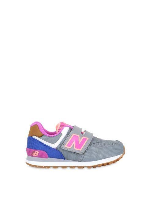 New Balance | Серый 574 Nylon Mesh Sneakers