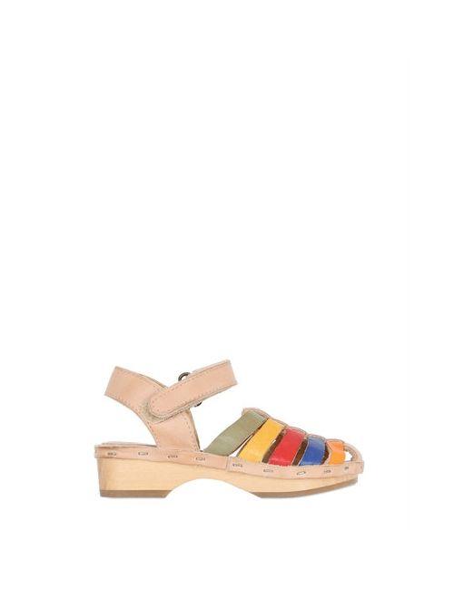 Ocra | Многоцветный Leather Sandals