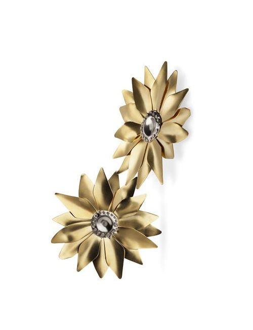 FUTURO REMOTO GIOIELLI   Золотой Sunflower Earrings