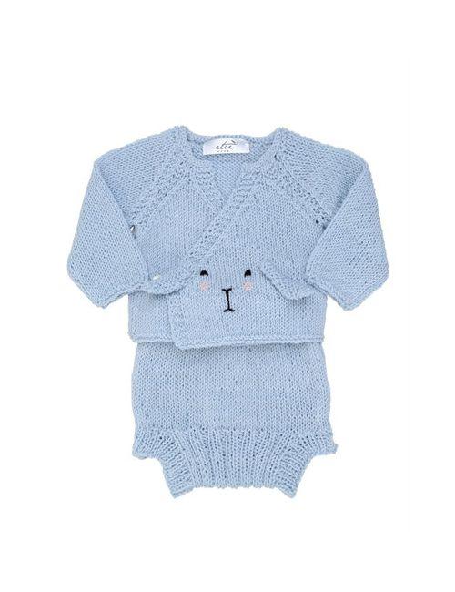 ETCÌ | Синий Handmade Wool Sweater Diaper Cover