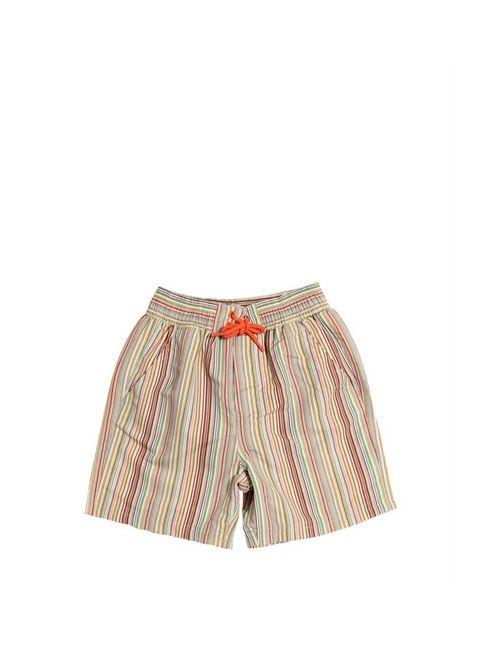 Paul Smith Junior | Многоцветный Striped Nylon Swimming Shorts