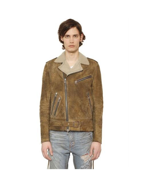 AMIRI | Коричневый Super Light Shearling Biker Jacket