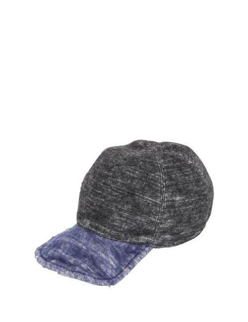 GI'N'GI   Multi Reversible Felted Wool Baseball Hat