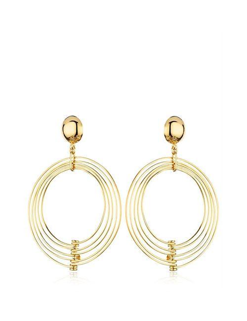 REMINISCENCE | Золотой Ebony Earrings