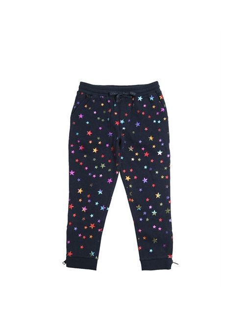 Stella Mccartney | Navy Stars Printed Cotton Jogging Pants