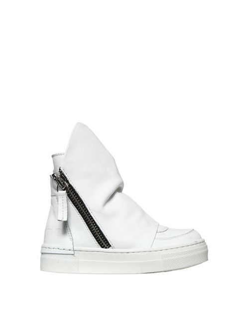 ARAIA KIDS | Белый Leather High Top Sneakers