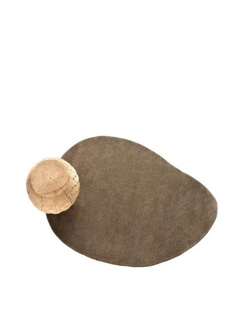 NANIMARQUINA | Серый Stone 1 Wool Rug