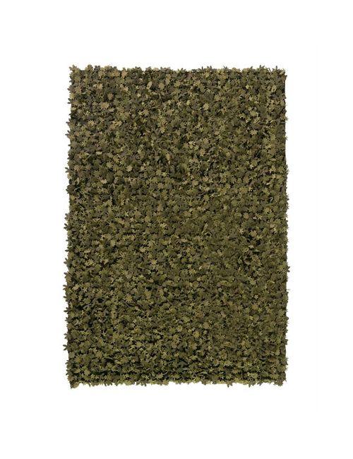 NANIMARQUINA | Зелёный Little Field Of Flowers Wool Rug