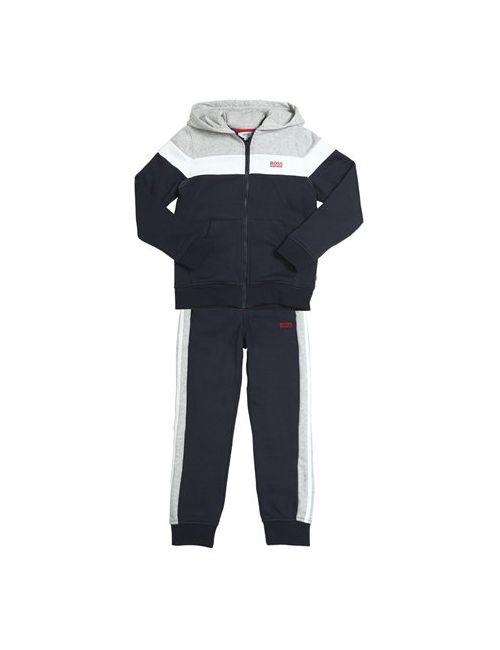 Hugo | Серый Cotton Sweatshirt Jogging Pants