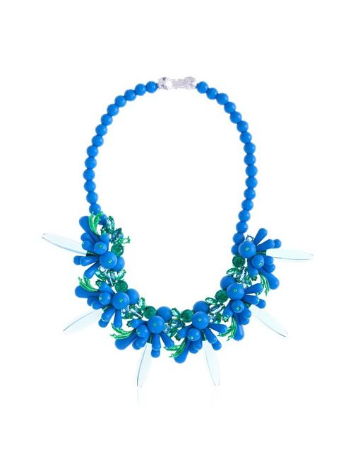 EK Thongprasert | Синий Classic Silicone Necklace