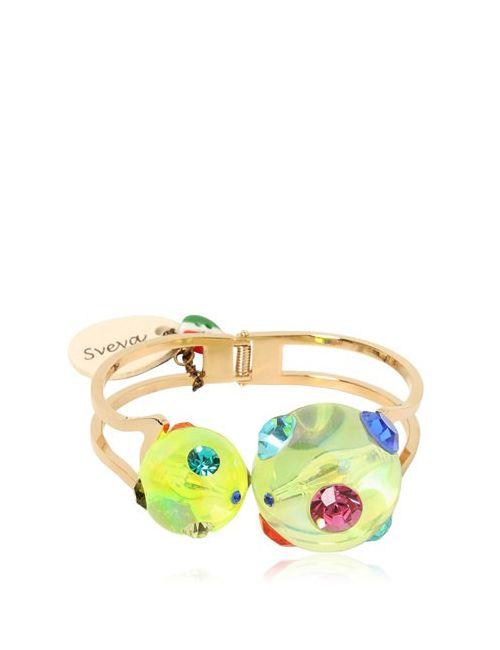 SVEVA | Желтый Cometa Hinge Bracelet