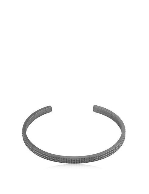 Le Gramme | Черный Le 13 Matte Guilloche Pyramid Bracelet