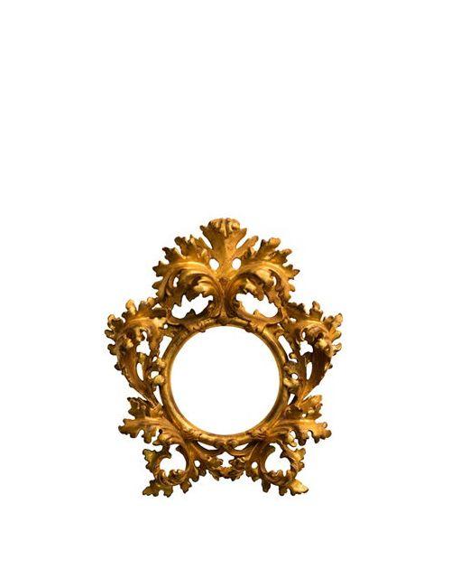 BOTTEGA D'ARTE MASELLI | Золотой Handmade Leaf Frame