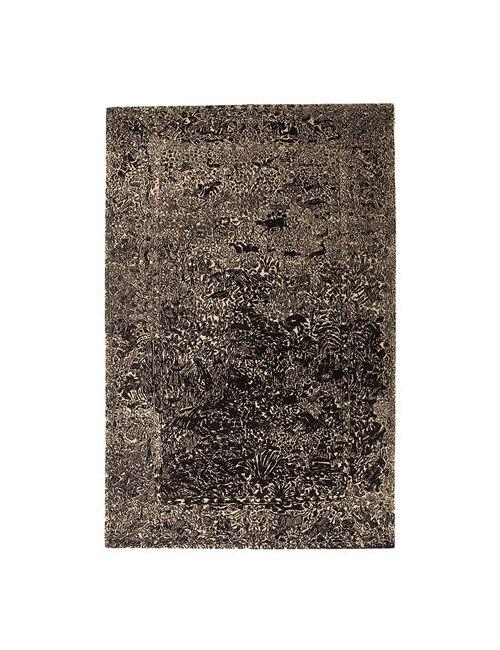 NANIMARQUINA | Чёрный Ghost Wool Rug