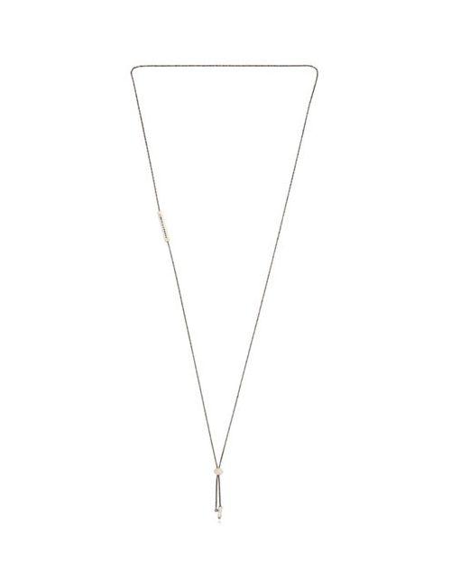 JANELLE KHOURI | Белый Sparkle Necklace