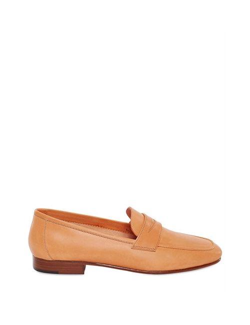 MANSUR GAVRIEL | Tan 10mm Vegetable Ned Leather Loafers