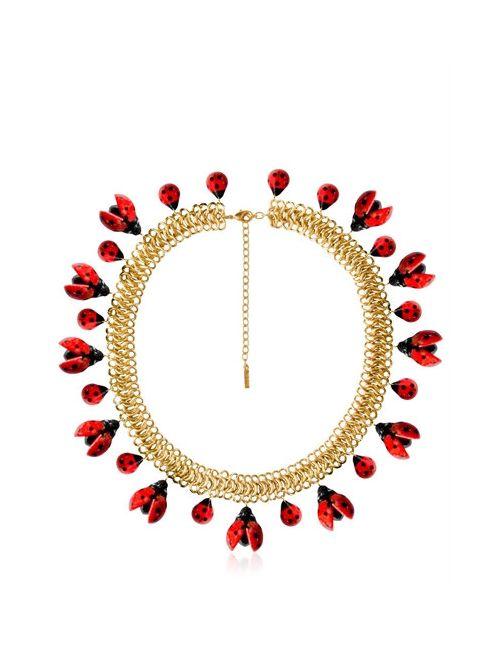 NACH | Золотой Ladybug Necklace