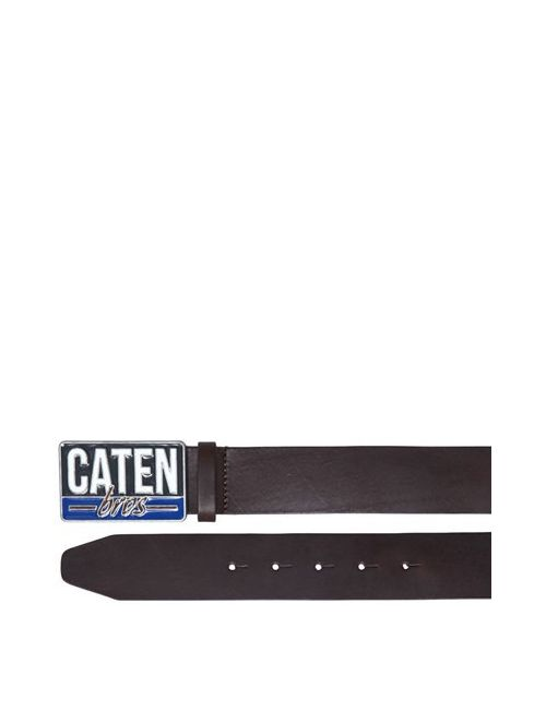 Dsquared2 | Коричневый Caten Buckle Leather Belt
