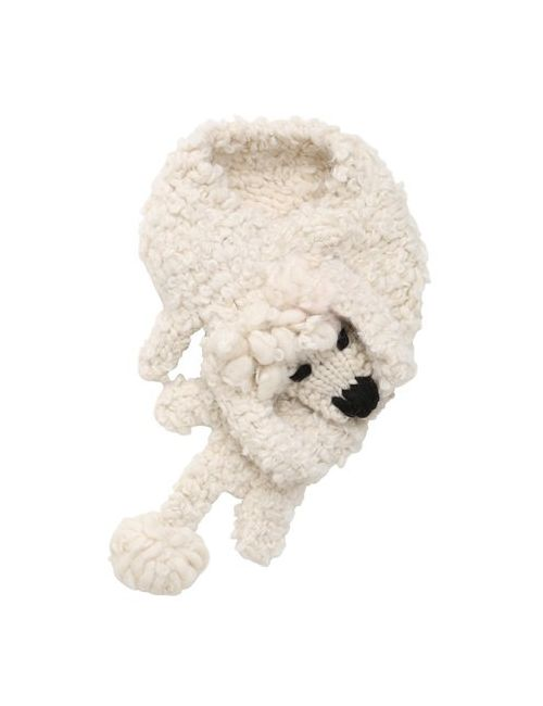 Eugenia Kim   Cream Fifi Wool Alpaca Tricot Scarf