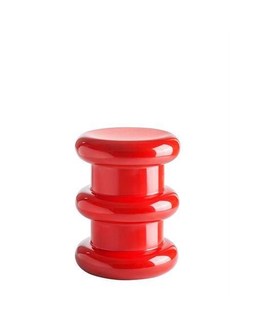 Kartell | Красный Sottsass Pilastro Stool