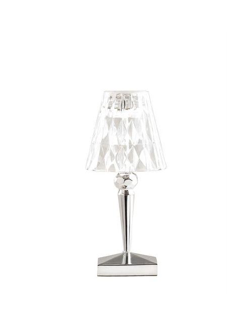 Kartell   Серебристый Battery Metal Table Lamp