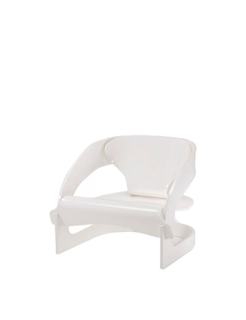 Kartell | Белый Reissued Joe Colombo Armchair