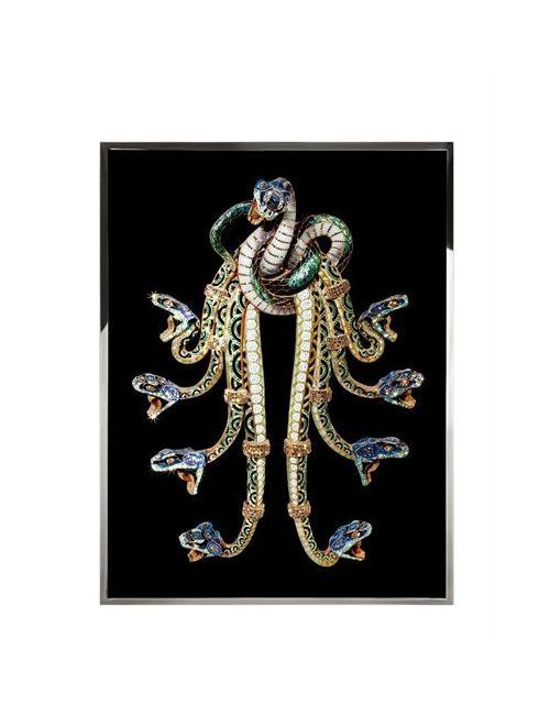 VISIONNAIRE | Hydra Swarovski Embellished Print