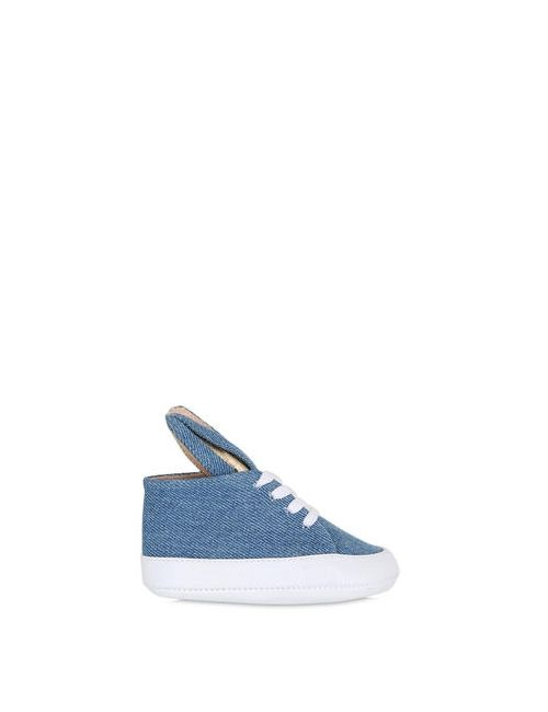 MINNA PARIKKA | Denim Bunny Nappa Leather Sneakers