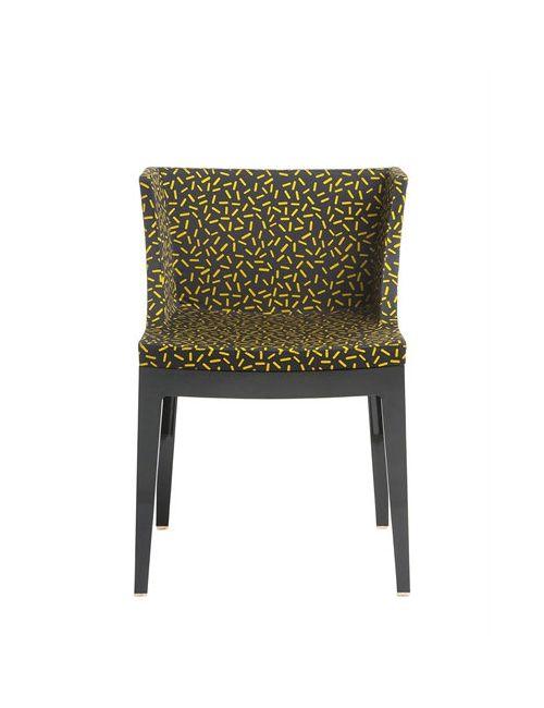 Kartell | Желтый Mademoiselle Memphis Letraset Chair