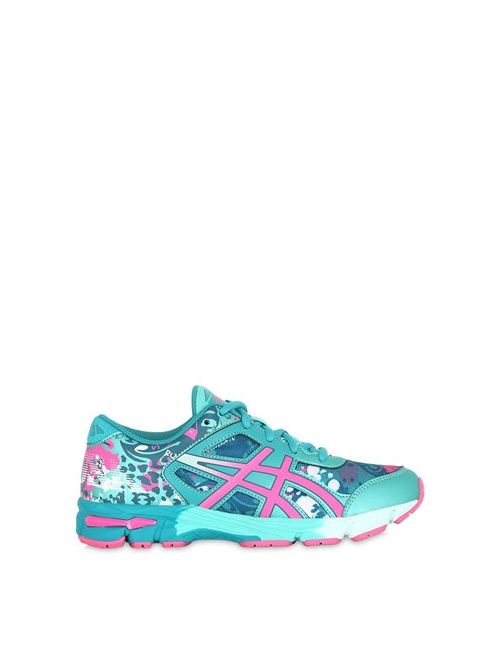 Asics | Aqua Printed Faux Leather Mesh Sneakers