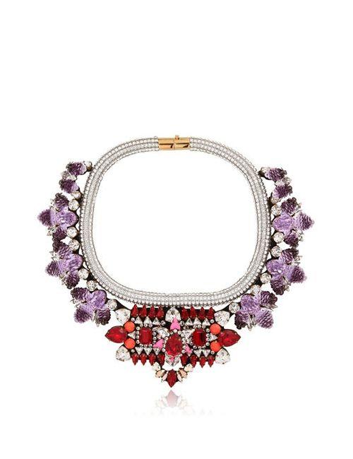 Shourouk | Фиолетовый Avalon Necklace