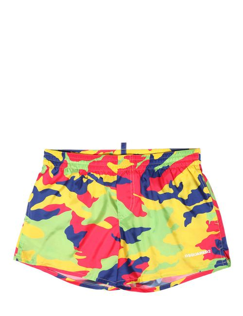 Dsquared2 | Многоцветный Camo Printed Swimming Shorts