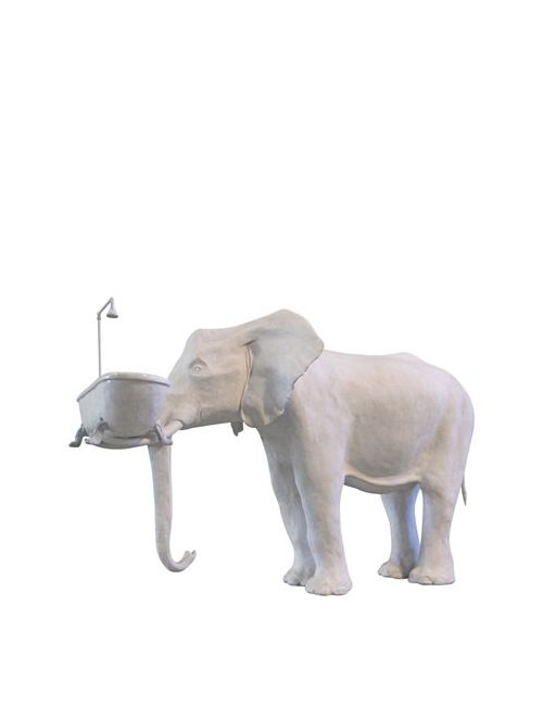MARCANTONIO RAIMONDI MALERBA   Белый Elephant Holding Bathtub
